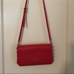 Kate Spade pink crossbody purse